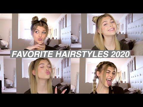 MY 8 FAVORITE HAIRSTYLES 2020