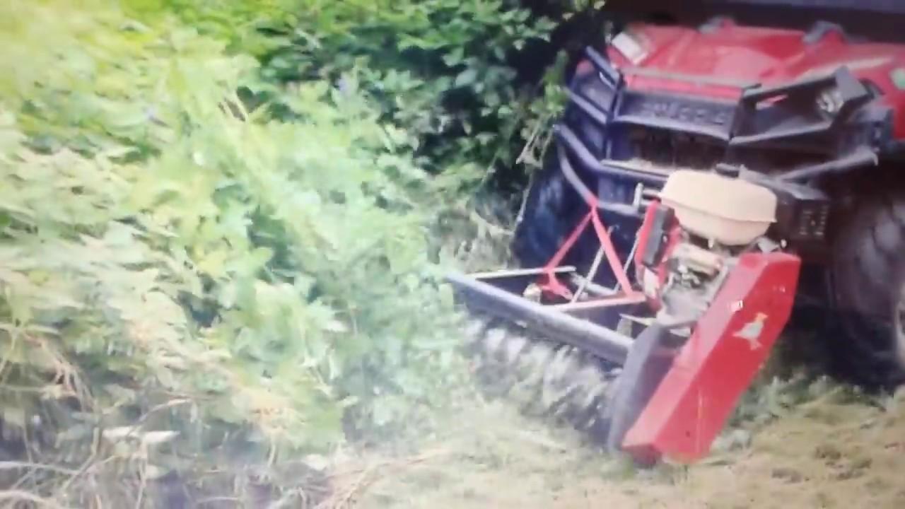 debroussailleuse quad hytrack
