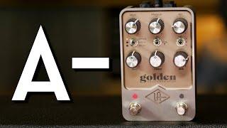 NOT Perfect! UA Golden Reverberator Review