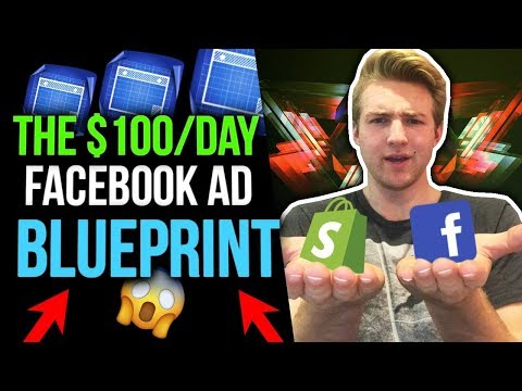The $100/Day Facebook Ad Blueprint For Dropshipping
