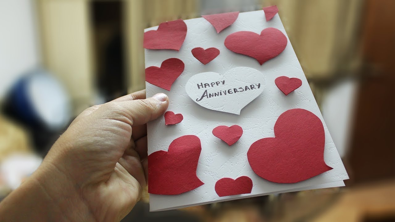 How to make Greeting Cards DIY Anniversary Card Ideas