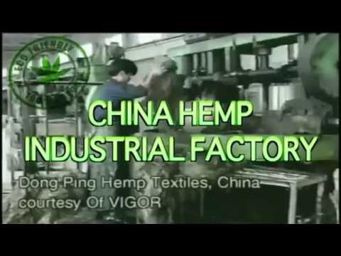 Hemp In China! Examples of some manufacturing factories!
