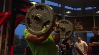 100 kg na biceps rozgrzewka 2017 Video