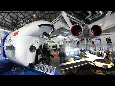 China Innovation! Latest Super Technologies Unveiled In China High Tech Expo