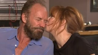 Sting and Mylene Farmer