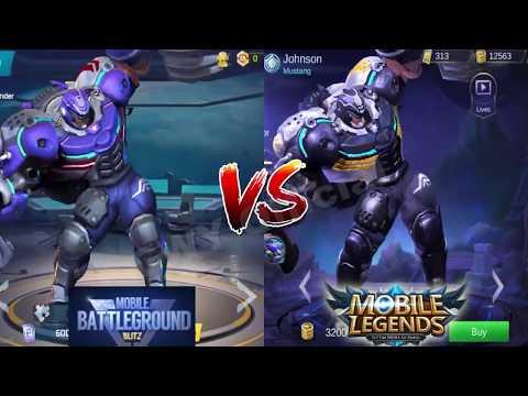 99% MIRIP BANGET jir ! Comparison Heroes ML vs Mobile Battleground Blitz - 동영상