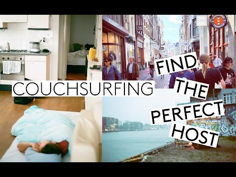 Sleeping At A Strangers House | How To Find The Best Host – Couchsurfing Tips