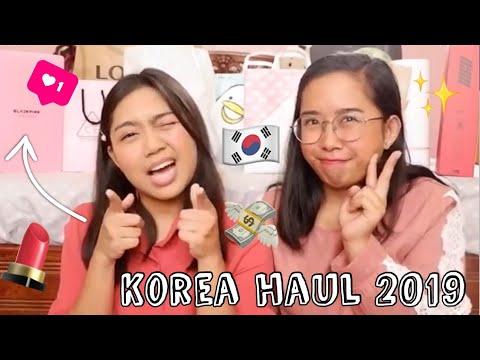 korea-haul-2019:-kpop-merch-(exo,-rv,-blackpink,-ikon)-+-korean-makeup-&-skincare