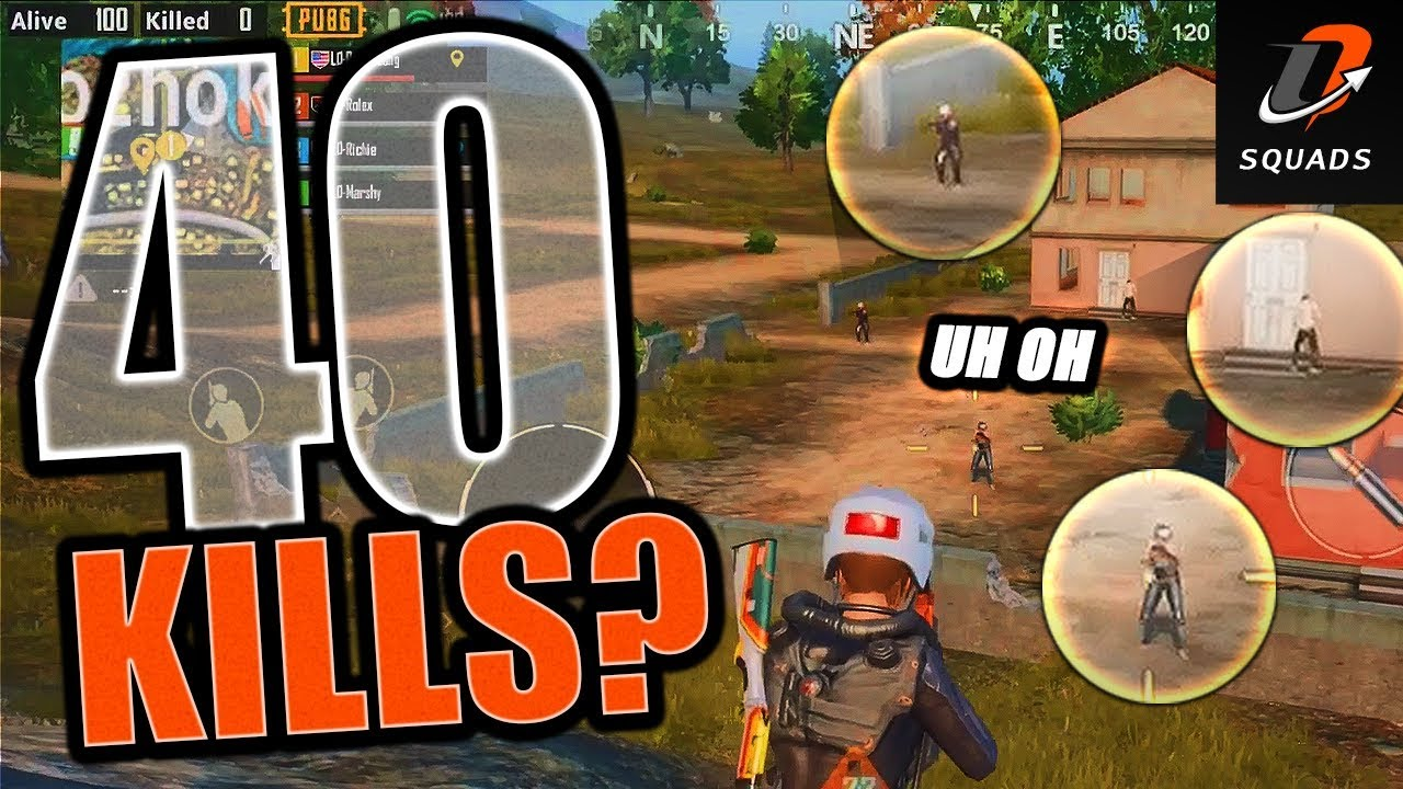 How To | GOING FOR THE 40-BOMB – LIGHTS OUT SQUADS – PUBG Mobile