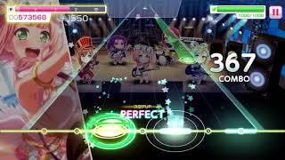 """Bang Dream! """"Fantastic Dreamer"""" (Konosuba OP 1 Cover) Full Combo Gameplay!"""