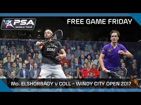 Squash: Free Game Friday - Mo. ElShorbagy v Coll - Windy City Open 2017