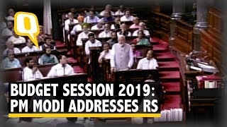 Budget Session 2019: PM Modi Addresses Rajya Sabha
