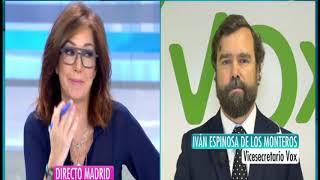 Iván Espinosa: para VOX las mujeres no necesitan una protección específica