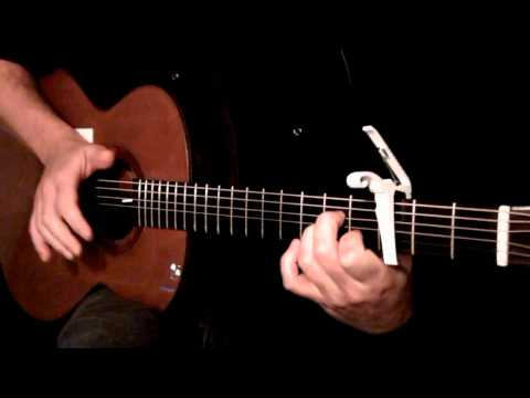 Kelly Valleau - Demons (Imagine Dragons) - Fingerstyle Guitar