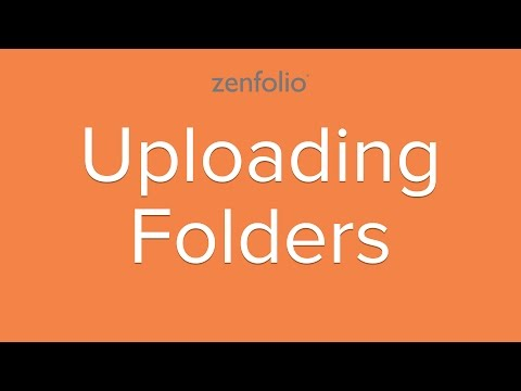 How to use the folder upload feature - use Google Chrome to batch upload your photos.