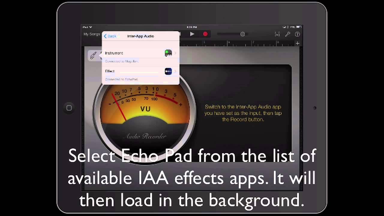 Echo Pad + Inter-app Audio - Holderness Media