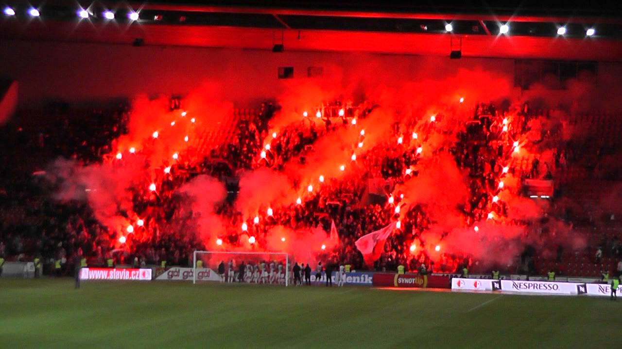 Sk Slavia Image: Choreo Ke 120. Výročí Klubu
