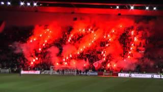 SK Slavia Praha - choreo ke 120. výročí klubu