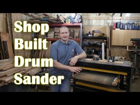 Best DIY Drum Sander on YouTube!
