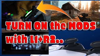 How to TURN ON Mods and play Tactical FLIP with ( L1+R1) Using Cronus ZEN Script Black Ops/ Warzone