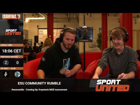 ESU Rumble: MGE Tournament casting by b4nny & Bear