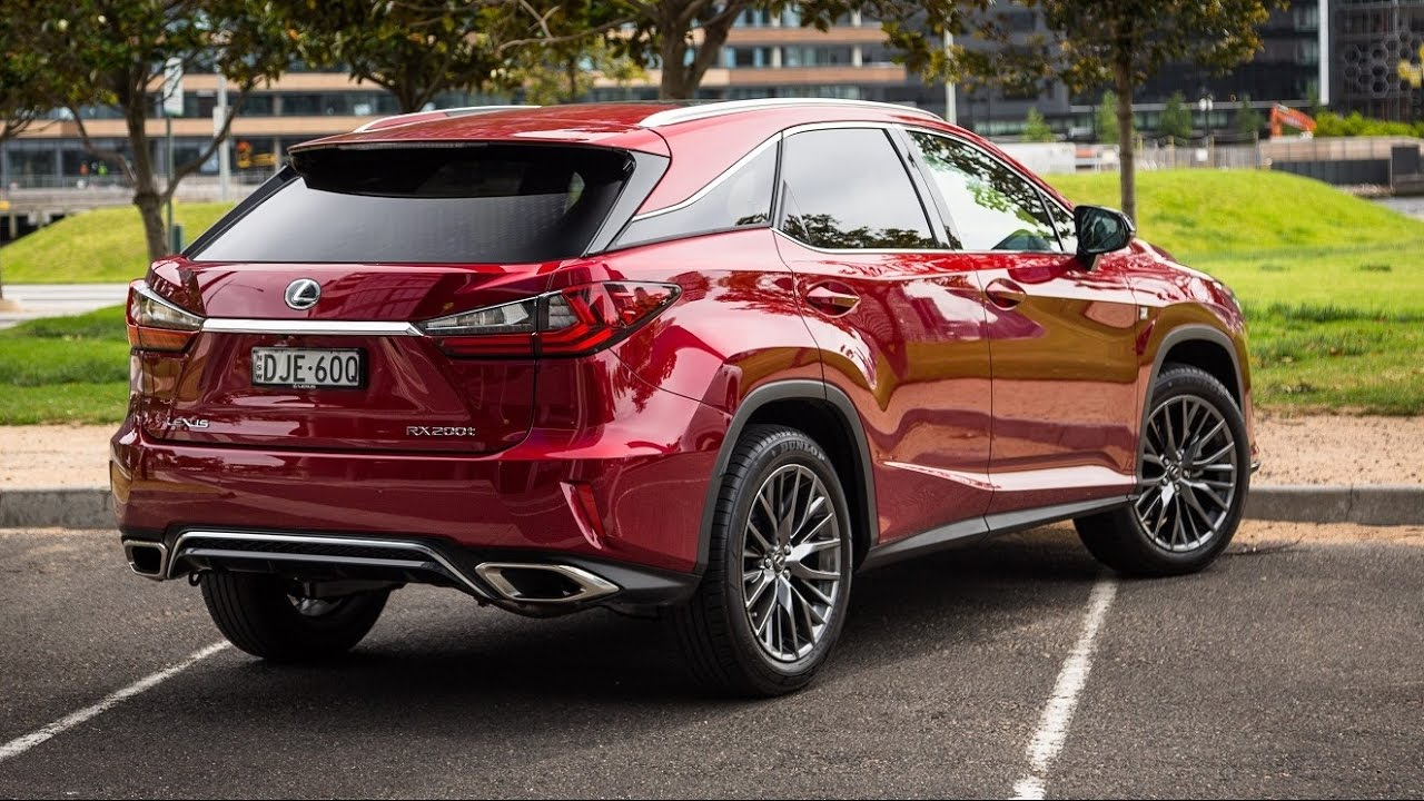 Lexus Rx200t F Sport 2017 Exterior And Interior Youtube