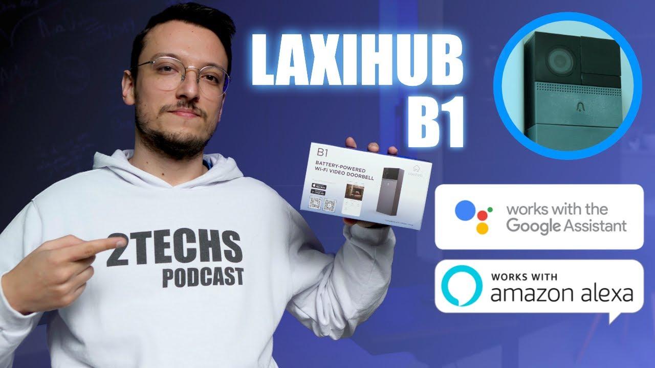 Video-Campainha sem Fio compatível com ALEXA | Laxihub B1 | Review Completo