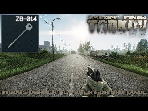 Escape From Tarkov - Woods Bunker Key