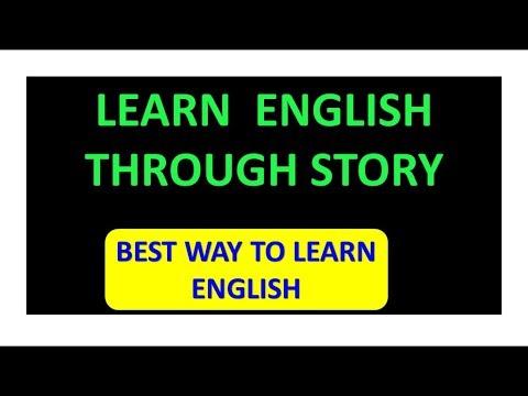 speak english ||spoken english through story || learn english through stories ||