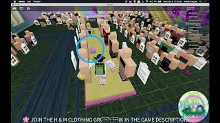 ROBLOX — H&M Homestore, 750 Diamonds (Royale High Egg Hunt Event 2019)
