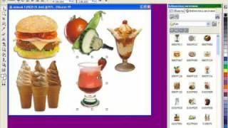 Видео-урок 8. Готовые объекты в Corel Photo-Paint