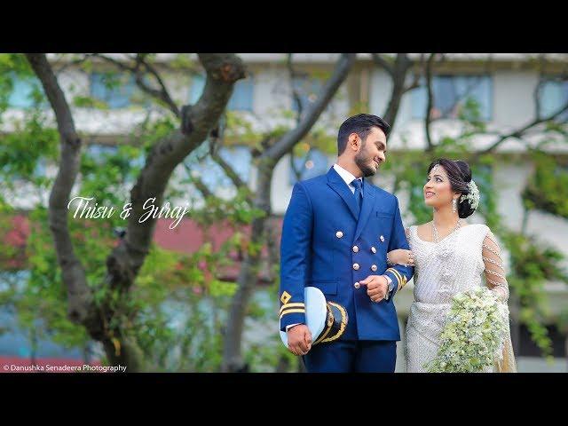 THISURI AND SURAJ WEDDING DAY