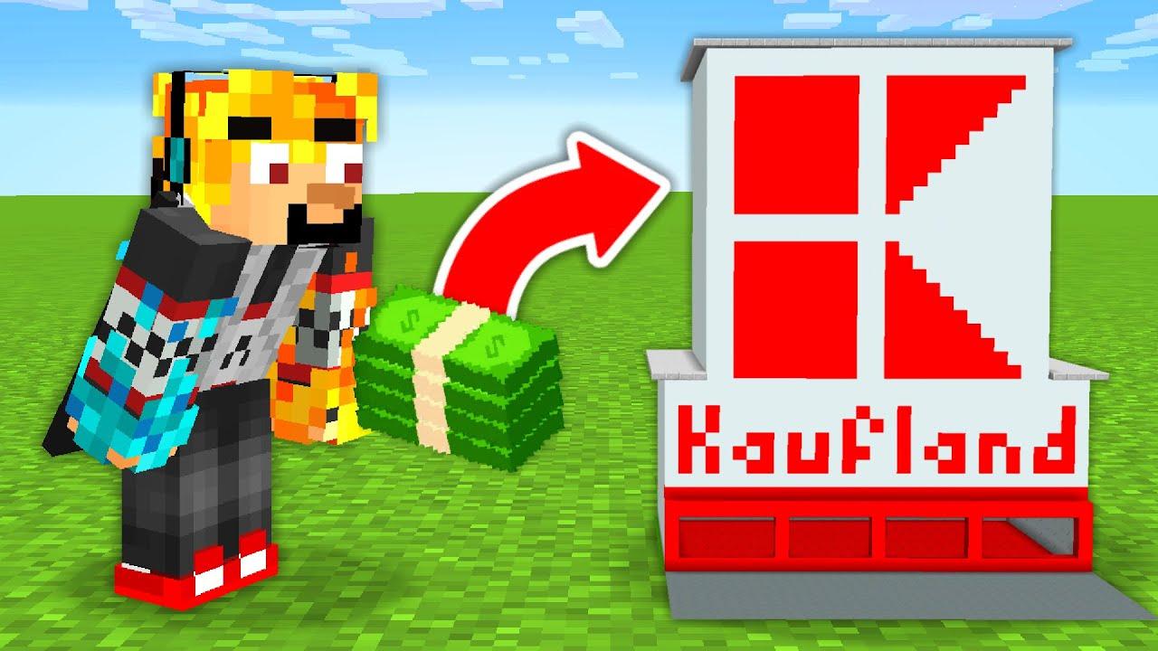 Minecraft, ale můžu NAKUPOVAT věci v Kauflandu...