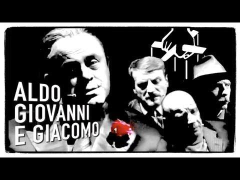 Il Padrino - Maurizio Crozza con Aldo Giovanni e Giacomo a LA7