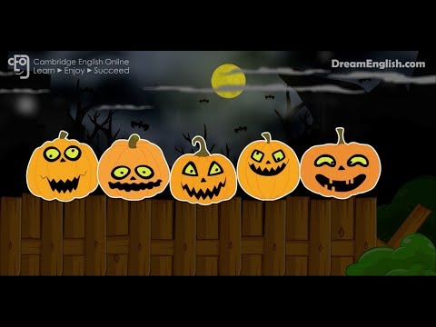 Halloween Songs For Children  5 Little Pumpkins Numbers and Halloween Song