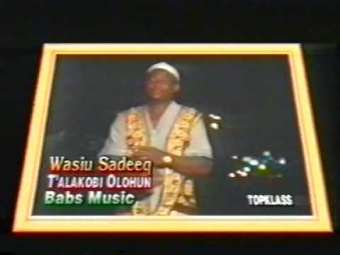 Download WASIU SIDEEQ - TALAKOBI OLOHUN