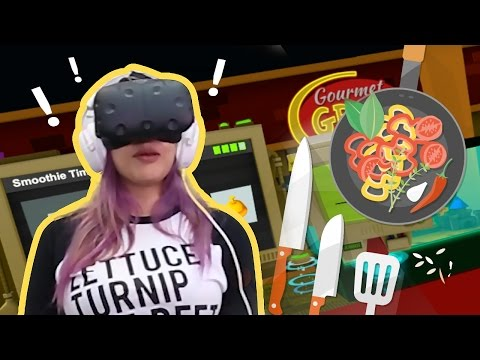 BEST VIRTUAL CHEF!! - Job Simulator VR