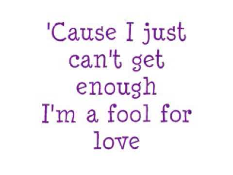 Stefy - Fool For Love (lyrics)