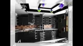 дизайн современной кухни с незамысловатым интерьером(, 2014-12-09T17:59:11.000Z)