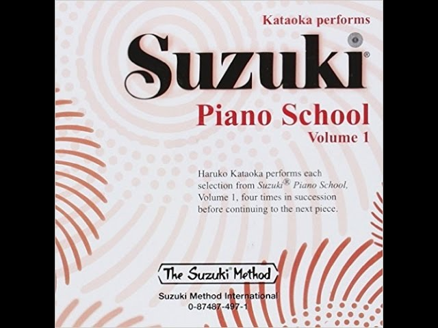 Suzuki Piano School Book 1 - Twinkle, Twinkle, Little Star Variation B
