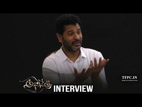 Prabhu Deva Hilarious Interview about Abhinetri | Tamannaah, Amy Jackson | TFPC