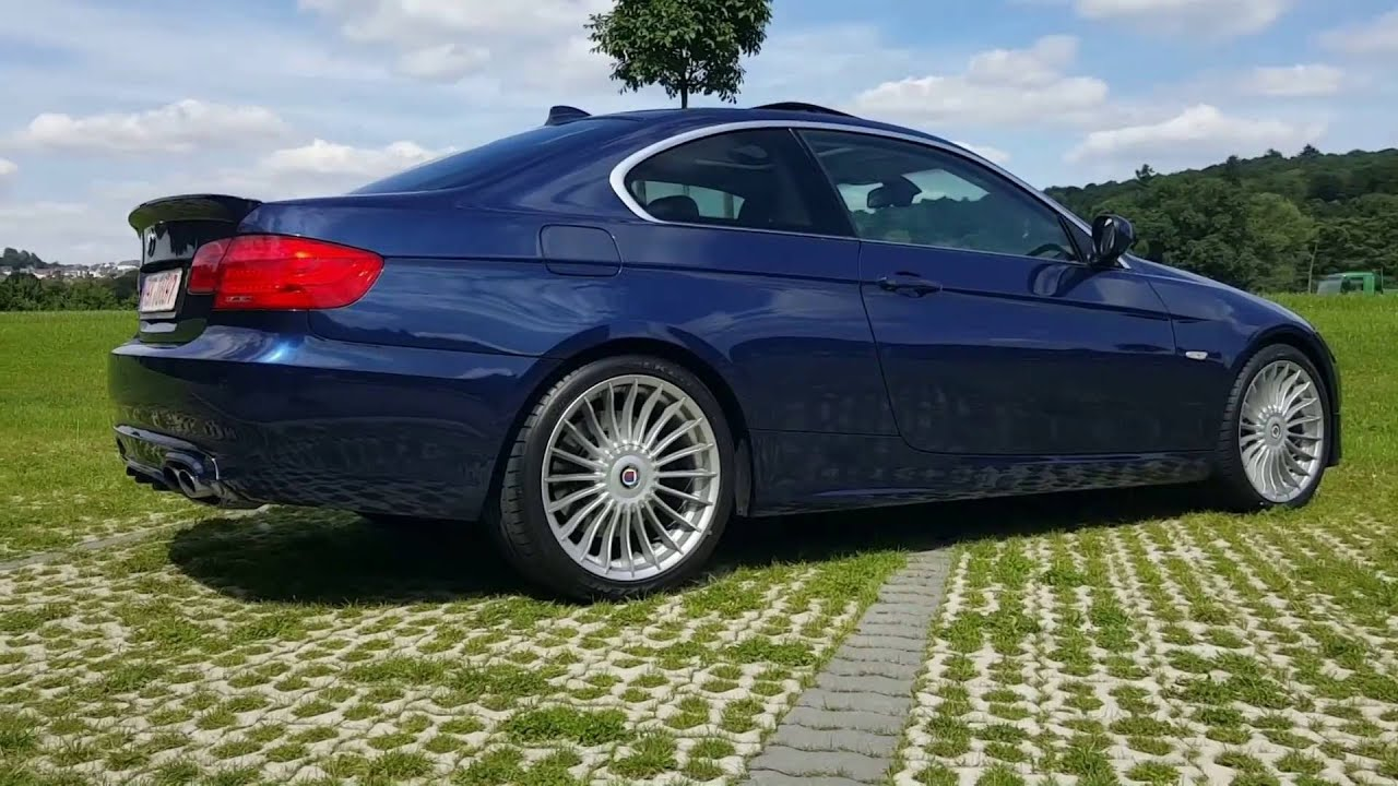 Alpina E92 B3s Xdrive 400 Ps Review Sound Tacho Test 0 100 0 60 Mph Youtube