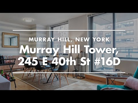 NYC Apartment Tour | Furnished Apartment In Murray Hill Tower, New York