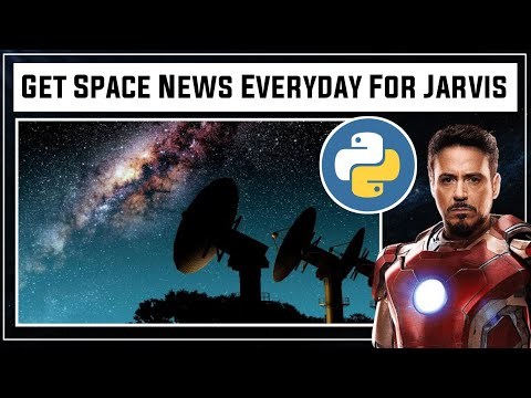 Extract Daily News From NASA   NASA Automation   How To Make Jarvis