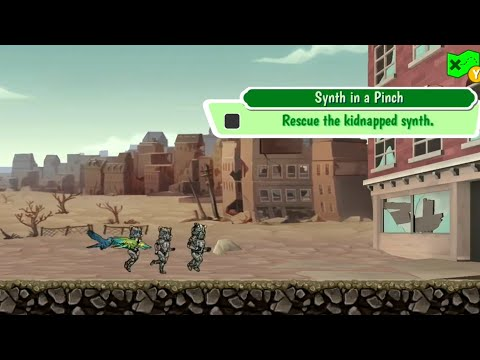 Fallout Shelter: Mission - Synth In A Pinch
