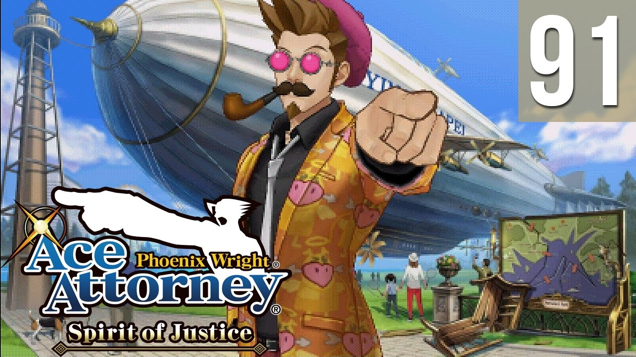 Phoenix Wright: Spirit of Justice #91 ~ Turnabout Time Traveler - Investigation, Day 1 (4/4)