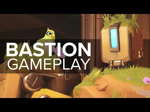 Overwatch Bastion Gameplay
