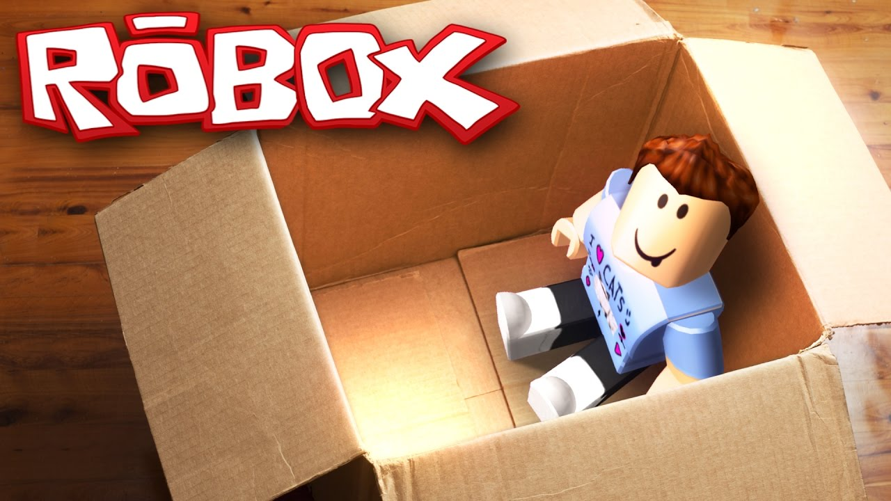 MAILING MYSELF IN A BOX CHALLENGE IN ROBLOX - YouTube