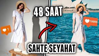 48 SAATLİK SAHTE SEYAHAT!! (Instagram Takipçilerimi Kandırdım) / SYDNEY