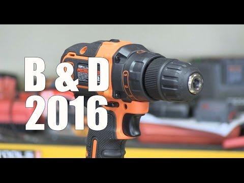 Black and Decker SmartTech 20V Drill